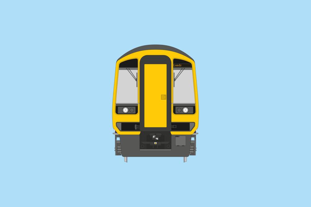British Rail Class 158 Front/Rear