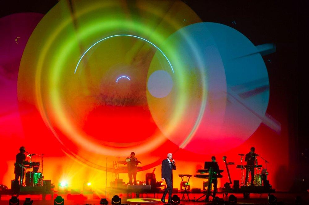 Pet Shop Boys -  Inner Sanctum  at London's Royal Opera House - 2016 - Designed by Es Devlin