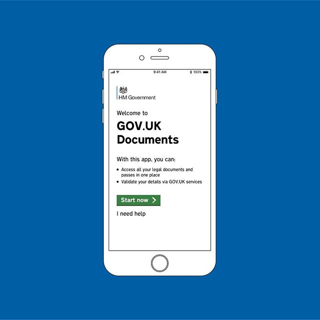 I recently spent a week designing and building a prototype for a fictitious Government smartphone app called GOV.UK Documents that allows citizens to digitally store and present their legal documents e.g. Passport, Driving Licence etc.