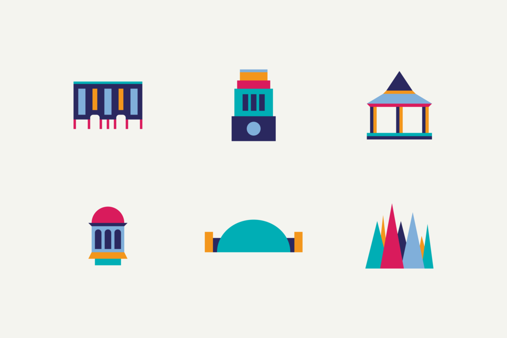 Designs for other landmarks