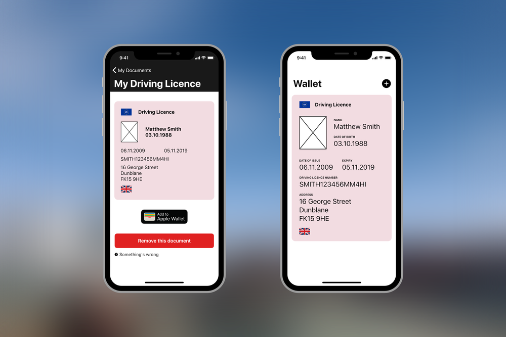 Adding documents to Apple Wallet