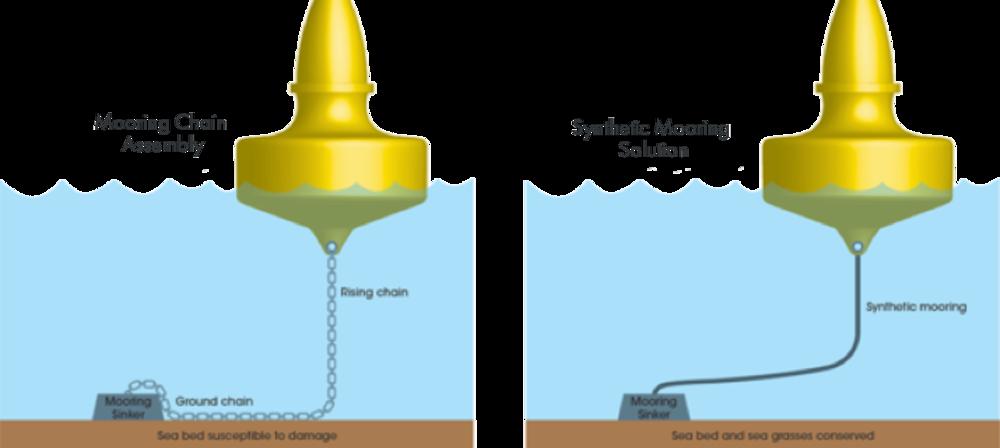 Diagram: EFM vs swing mooring   [NEEDS CHANGING]