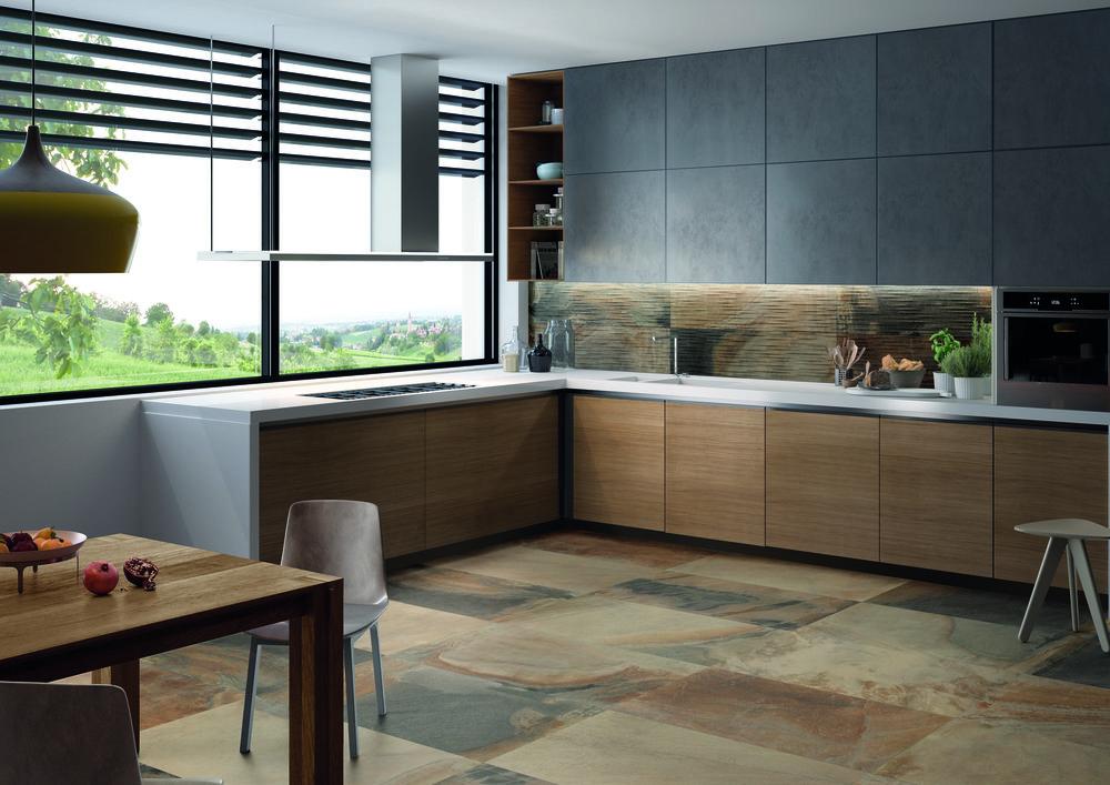 Cornerstone Slate Multicolor 60x120-Parallelo Amb Cucina.jpg