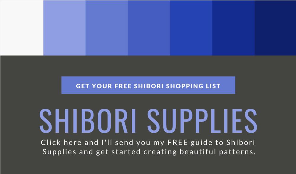 Shibori dyeing supplies