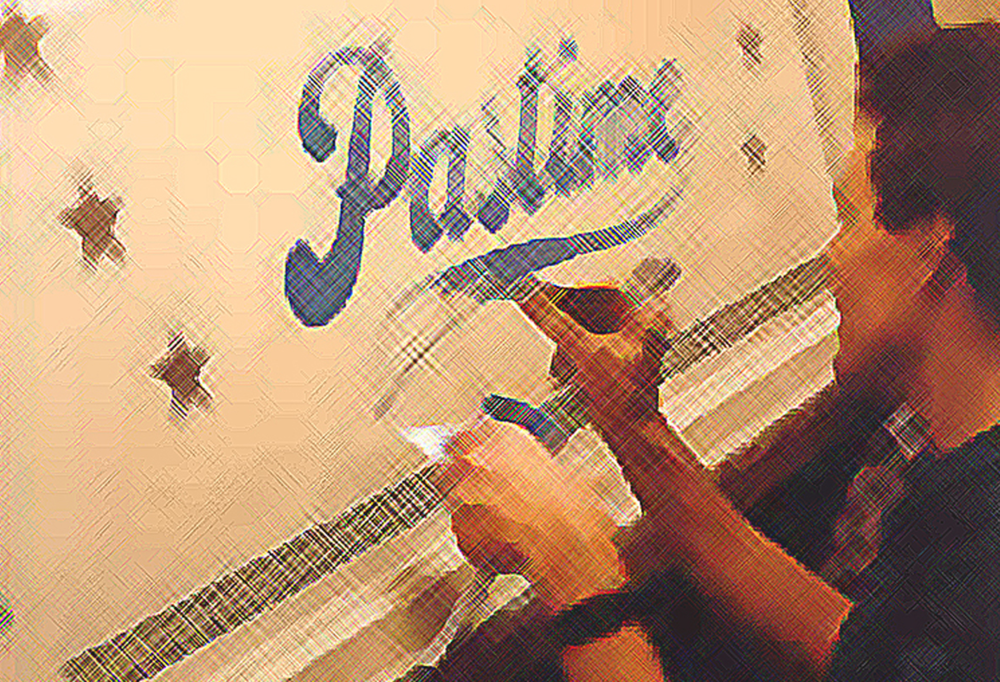 THE ANCIENT TRADE OF SIGNWRITING… - When you want a unique, classic look to your project – I can do that! Old-school techniques for a vintage look – beautiful brush work, gold leaf, as well as classic design styles can be brought to your project.