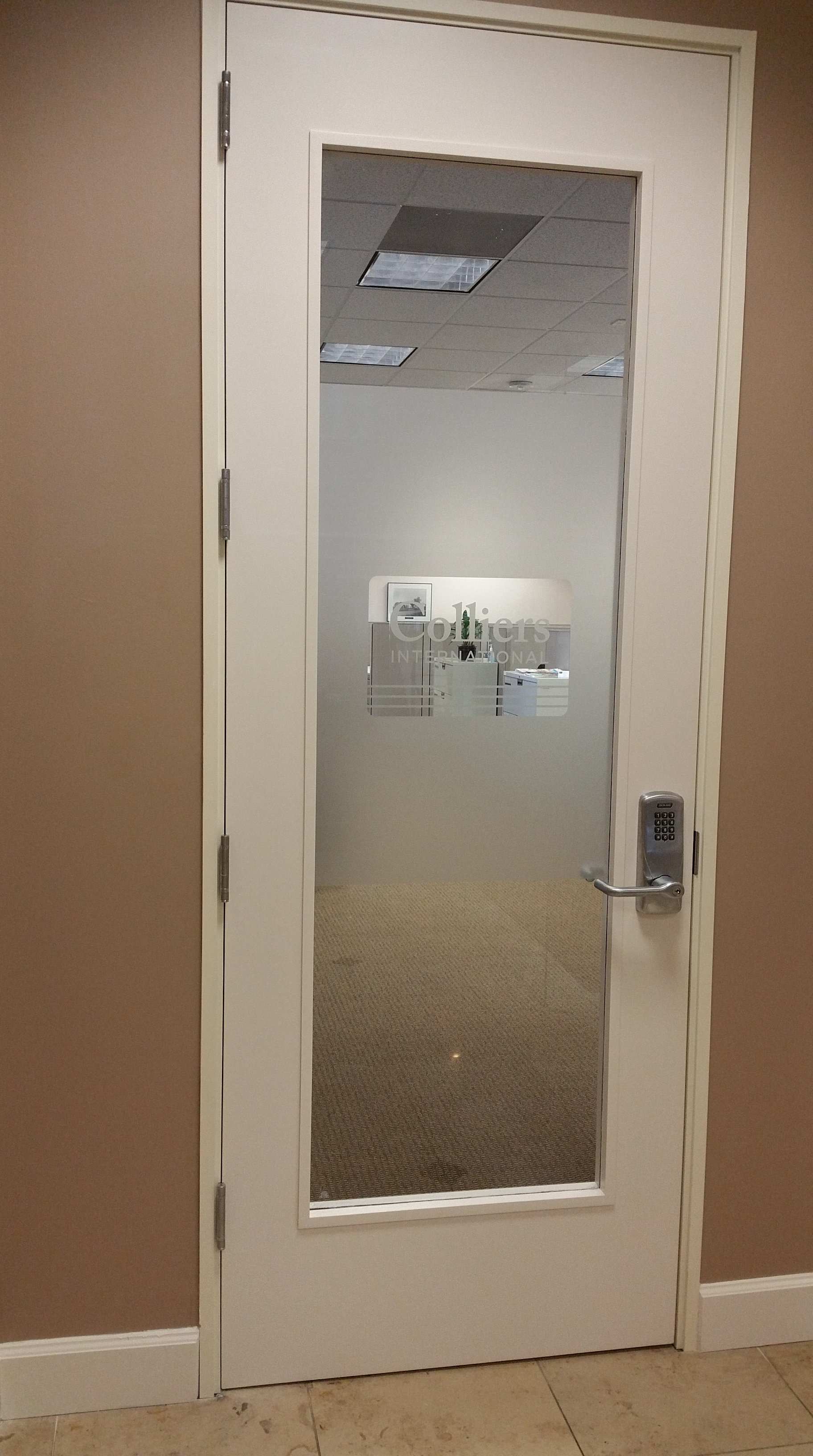 colliers office etch look privacy vinyl