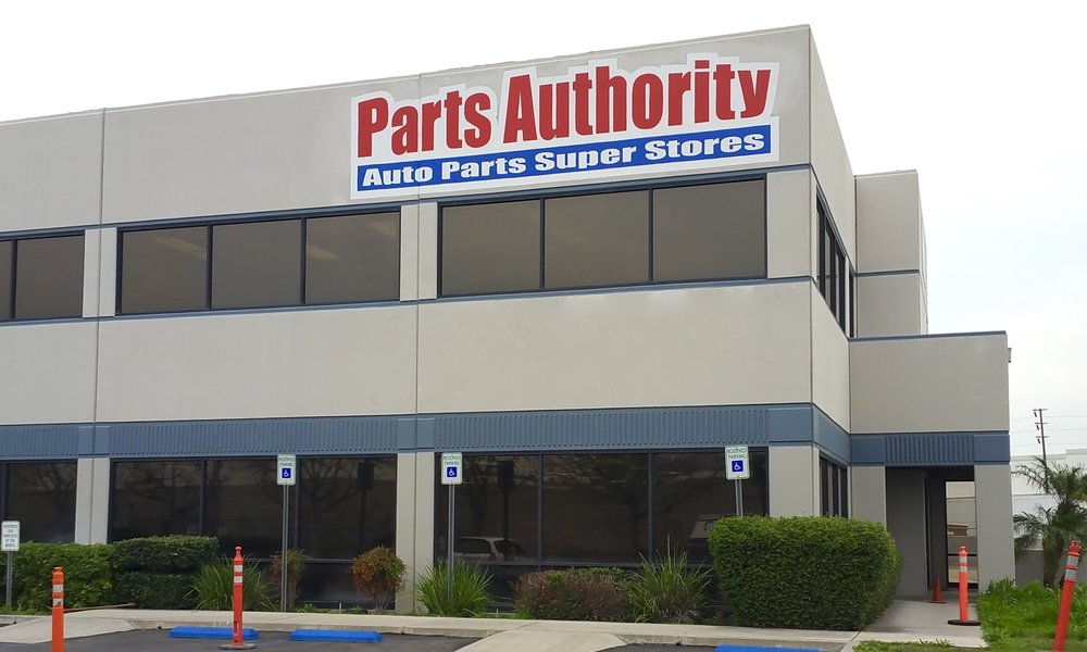 PAINTED WALL SIGN PARTS AUTHORITY