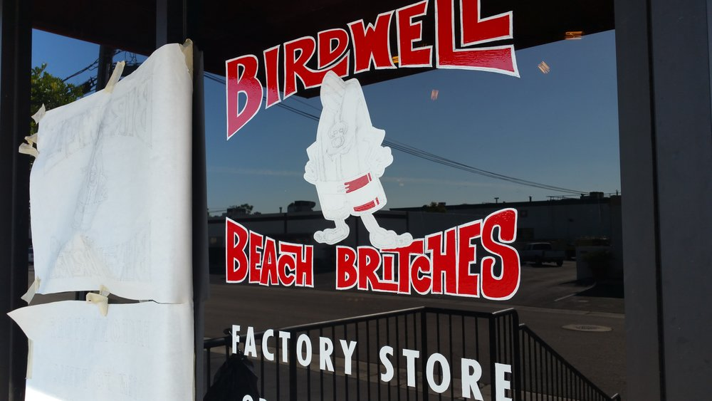 Birdwell Beach Britches Factory Store - in progress