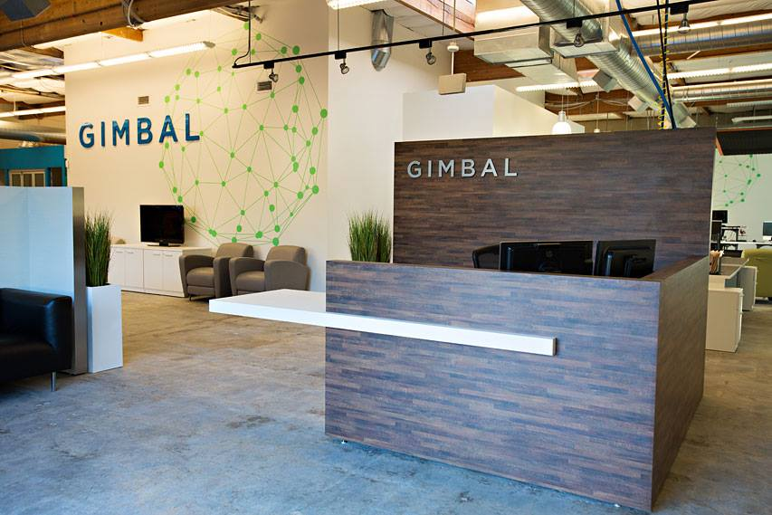 GIMBAL OFFICE SIGN - SAN DIEGO CA