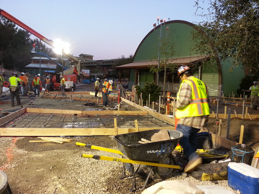 SMOKEJUMPERS GRILL EXTERIOR CONSTRUCTION