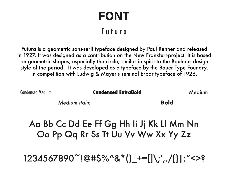 Futura Std Condensed Extra Bold