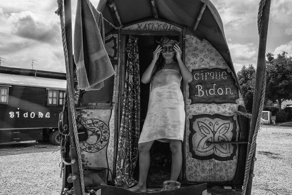 Eleni Albarosa. Cirque Bidon. Italy