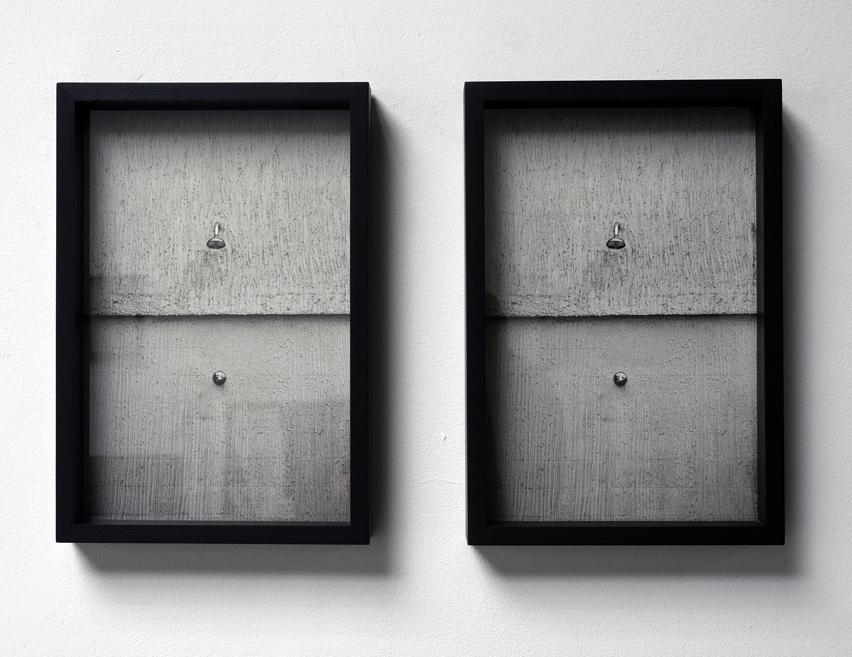 Indiferentes  Diptico 50x35cm x 2  Coleção Antonio Murta, Coleção Antonio Quinet 3/3