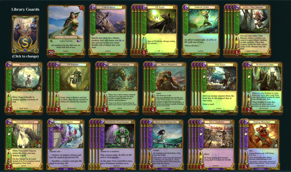 Swift Dominion Elves Spellweaver Deck