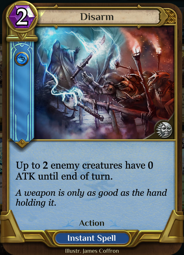 Disarm - Another Limited card, not so useful in constructed but can be deadly if you're playing against Shakuhachi.