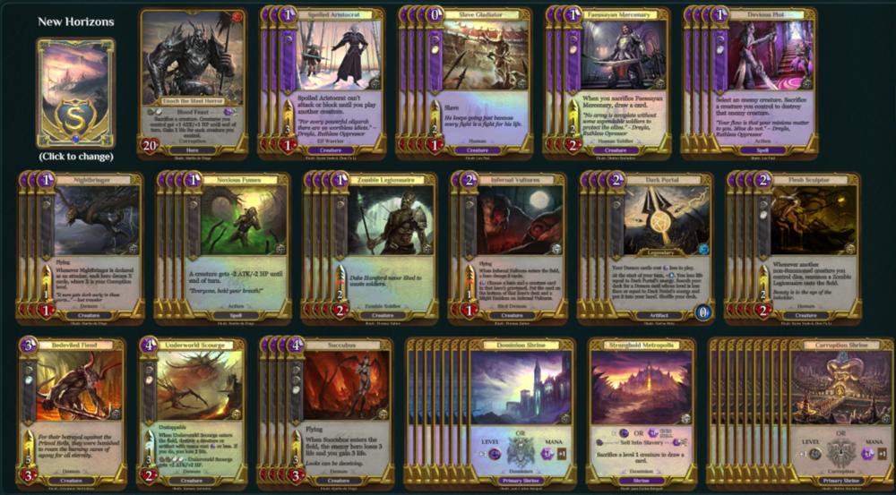 Purple Demons Spellweaver Deck