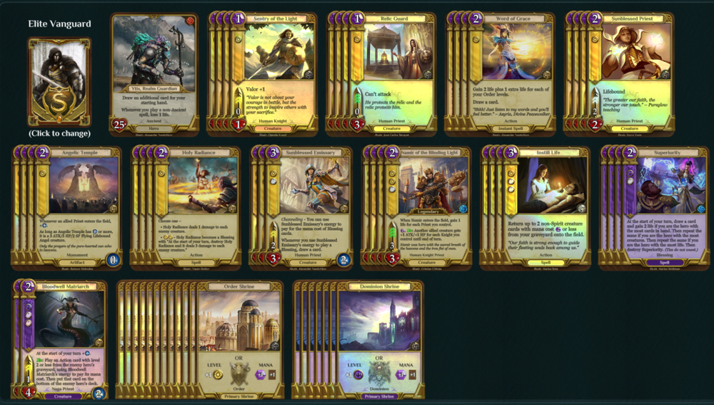 12 Order, 7 Dominion