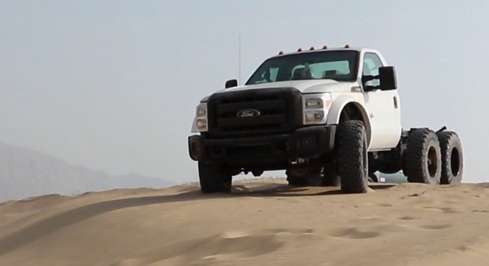 dubai 6x6 offroad super single