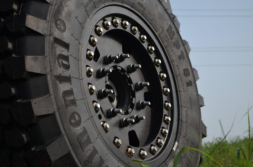 Super Single Aluminum Wheel