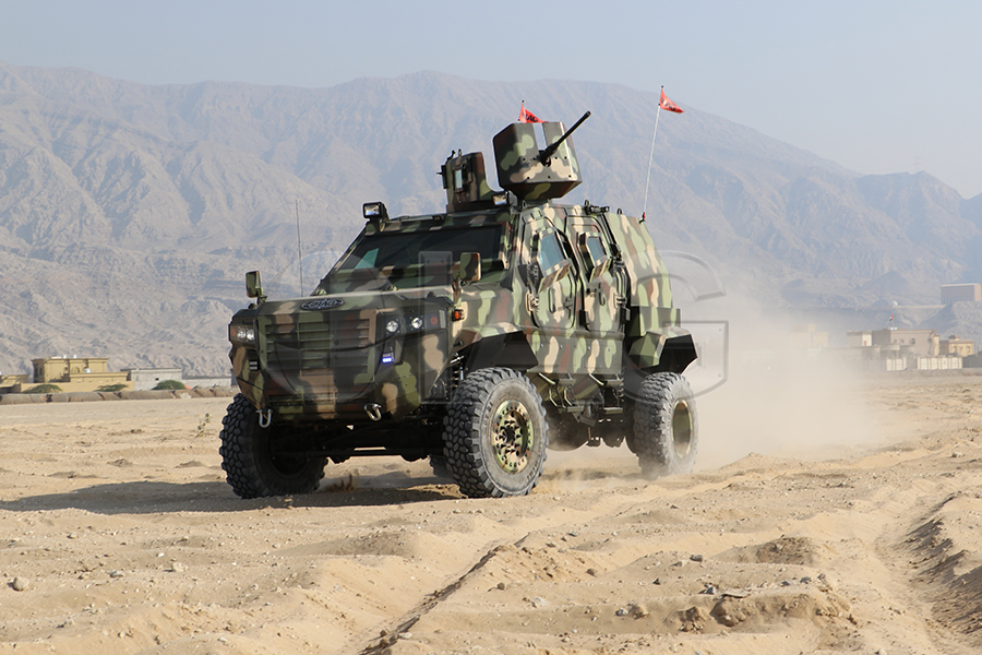 Guardian MAX LPV MRAP Military Wheels