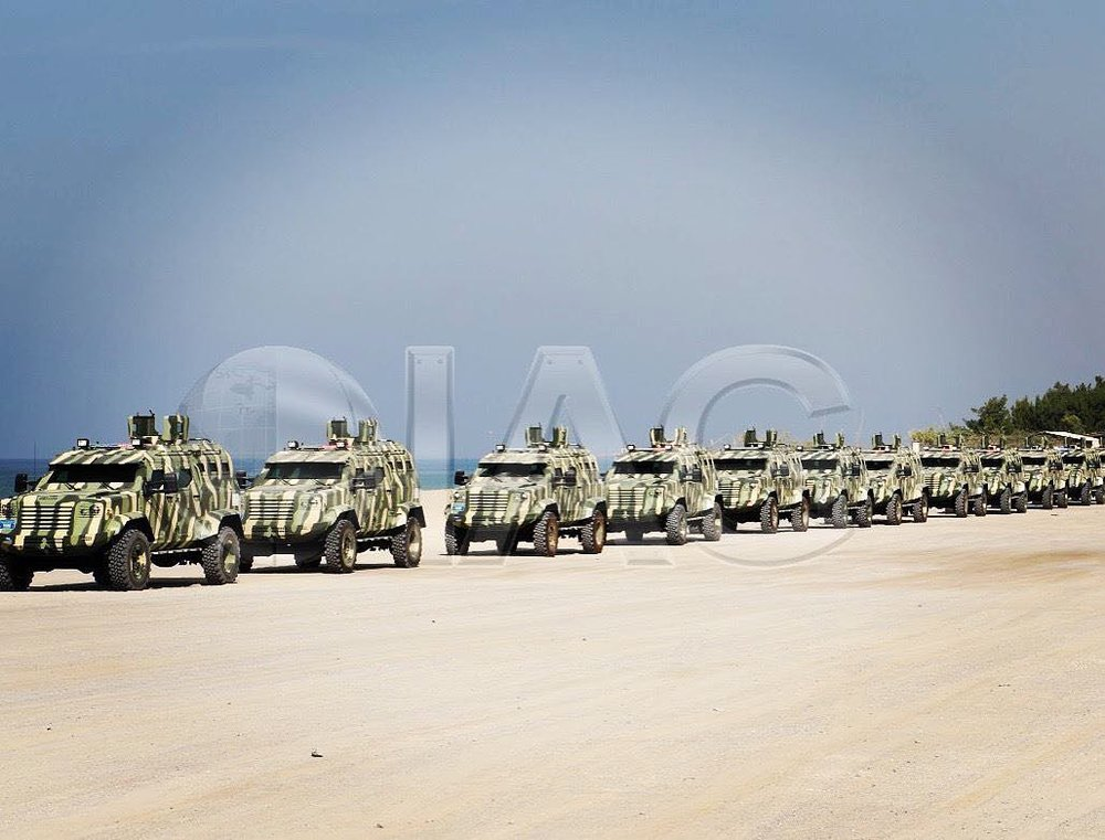 Armored Car Fleet