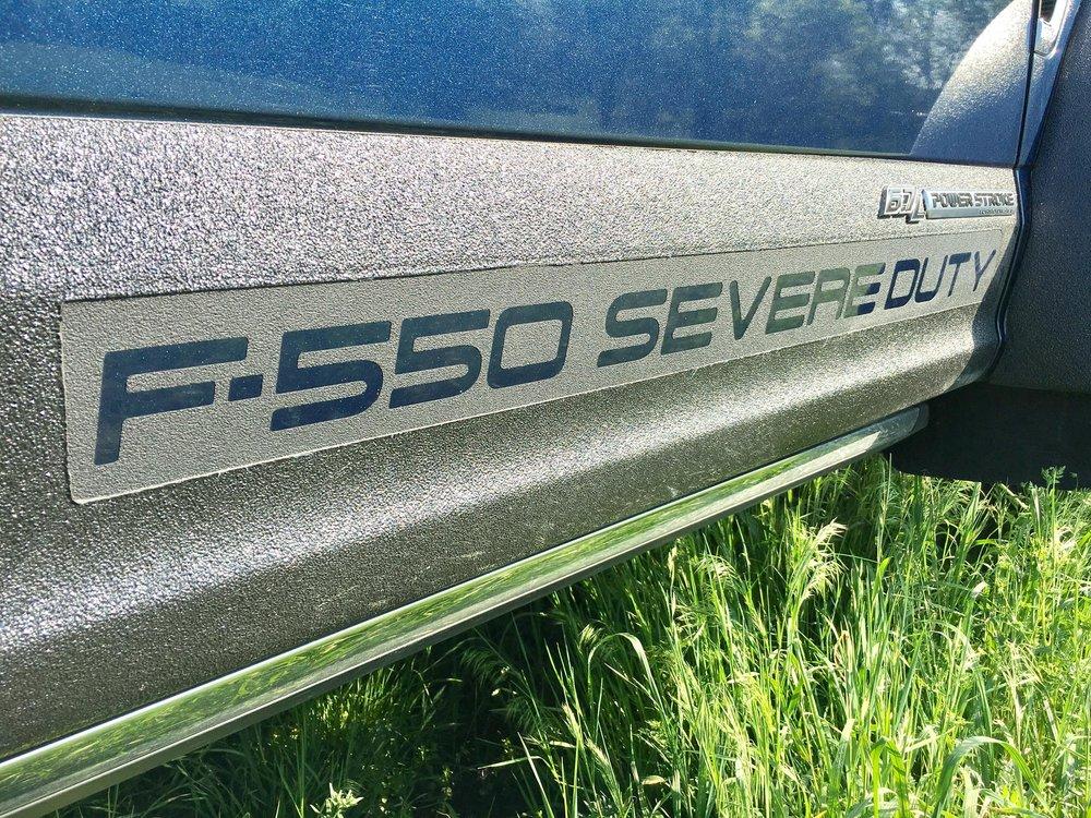 F550 Sticker