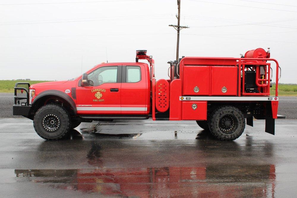 Brush Truck Fire Department