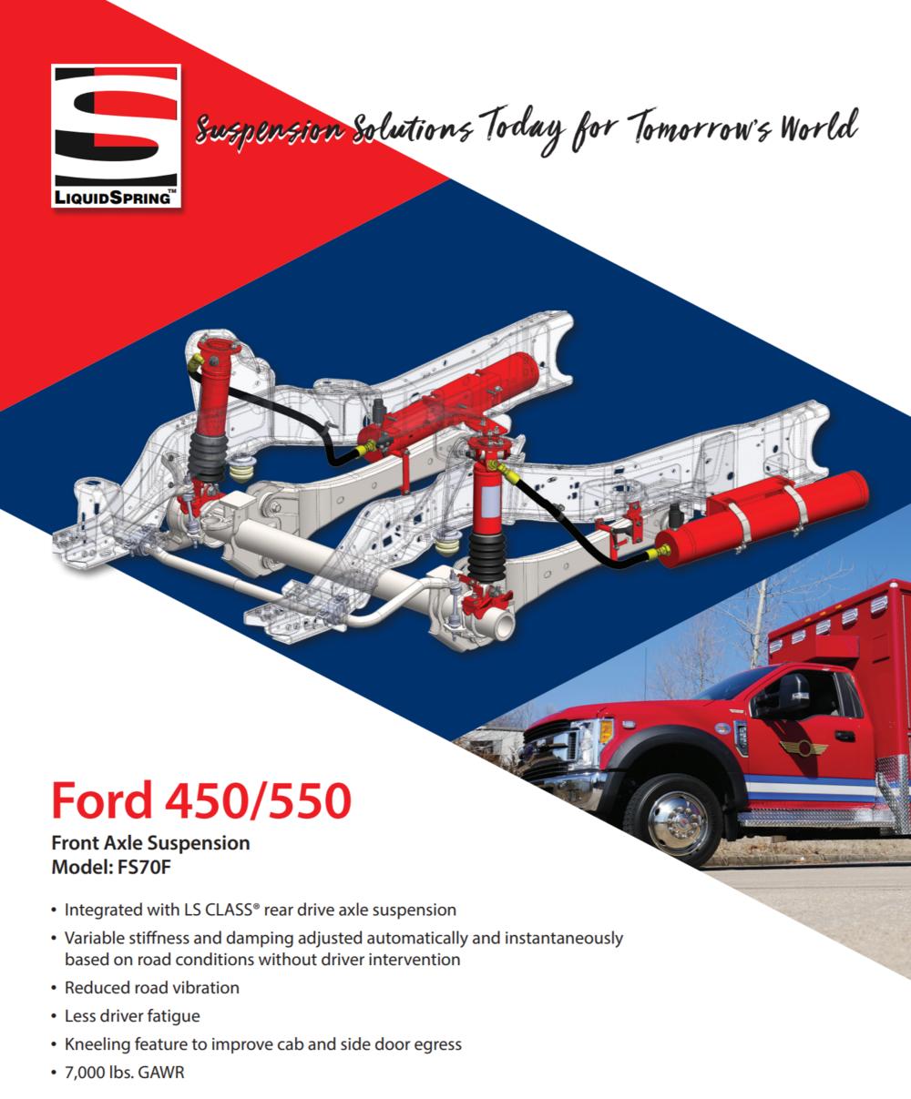 Liquid Spring F450 and F550