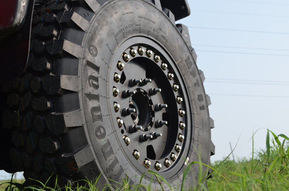 DBL Super Single MRAP F550 Wheels 4x4 10 Lug