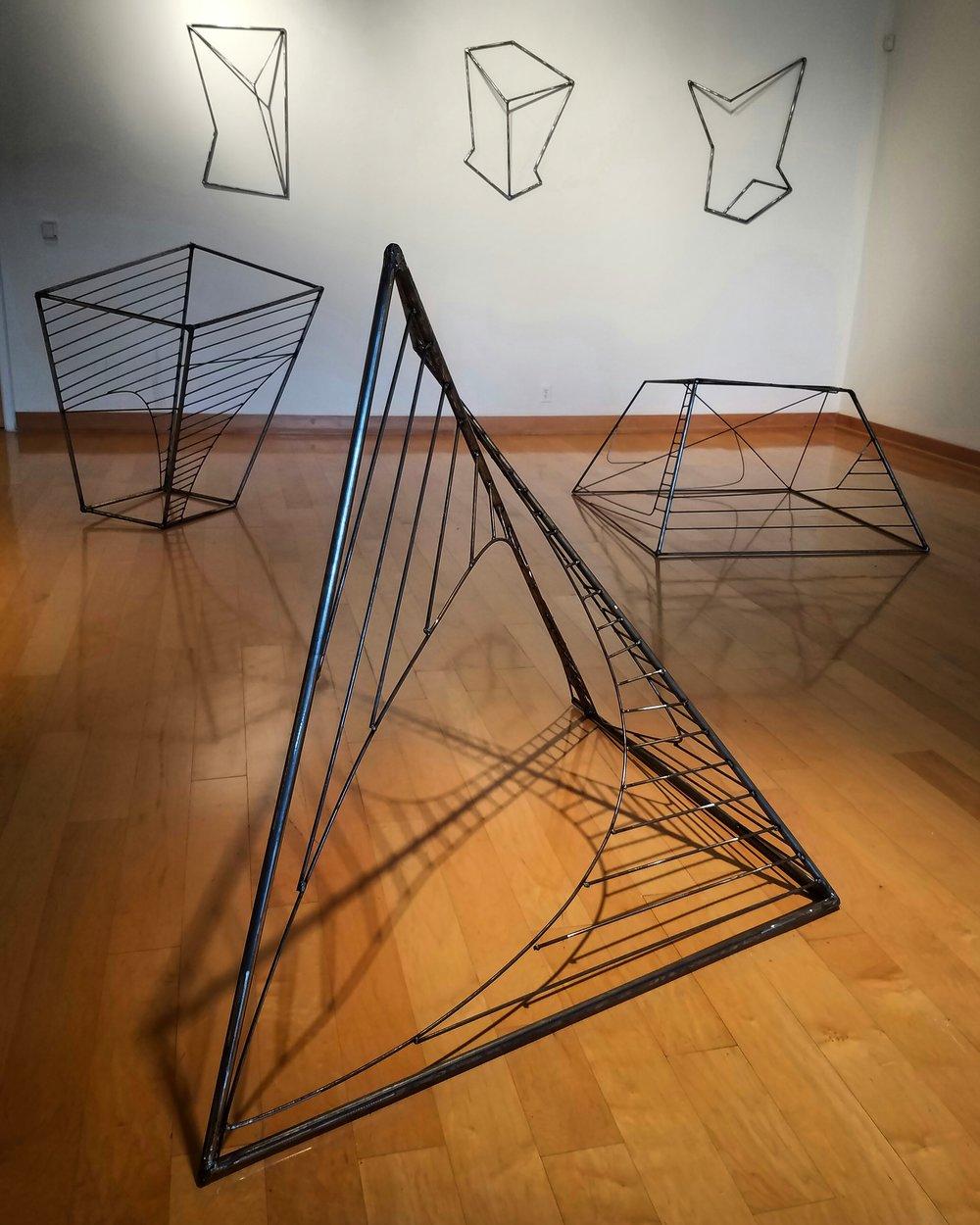 untitled, 2017 (welded steel)