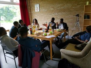 2016: Bochum - As Director of Socials and Sport of the NGO, NiSIG Germany, I was directly responsible for putting together logistics of the NiSIG National Summit in 2016 which held in Bochum. Alongside other executive members, we successfully organised the most significant events for Nigerian professionals in Germany