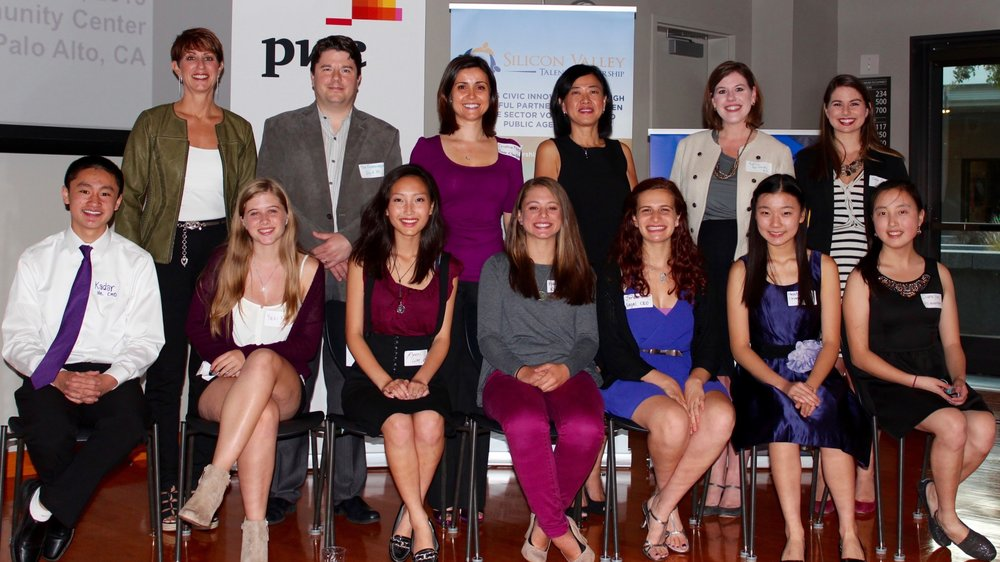 The BEAM teacher, student executive team, and key mentors in 2015.