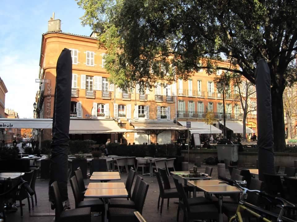 I fell in love with Toulouse - Place St Georges, Toulouse, South of France