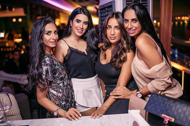 Catch up with your girlfriends on Tuesdays over 5 free beverages and 50% off the menu at Vibes and Views only at #SevenSistersDubai. Book your table 📞 +971-56-7754777!