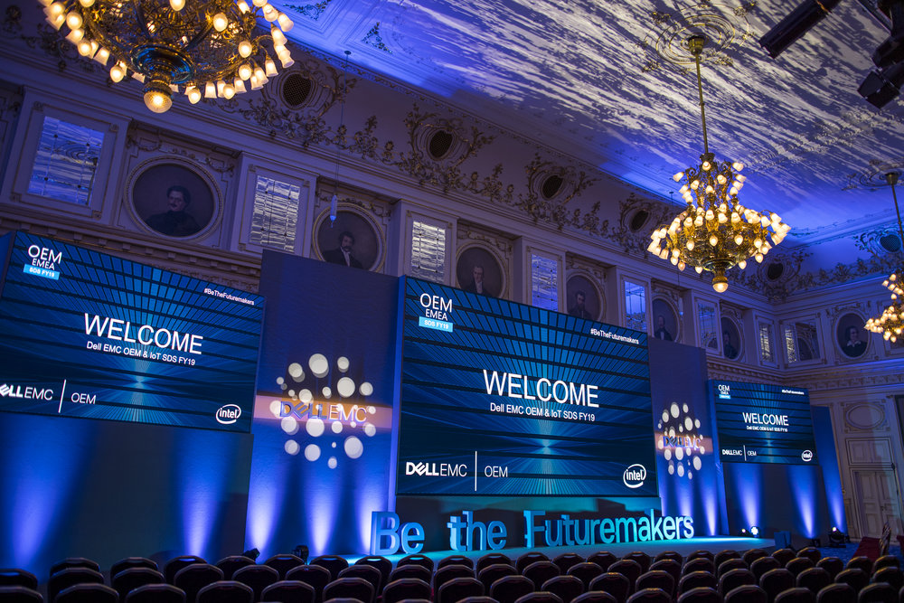 DELL EMC & Intel - Annual Conference in Budapest - Covering a multi-day conference, small-group seminars and a gala dinner with associate photographers of our team