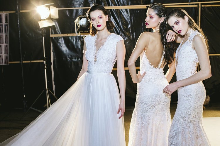 Daalarna Fashion Show 2018 - Backstage photos - Behind-the-scene shots with a touch of fashion photography