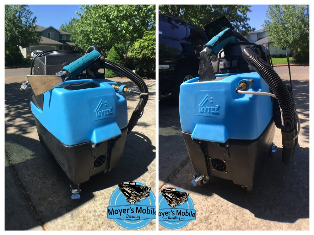 MMD is equipped with HOT WATER EXTRACTION!!! - This machine is best in class for cleaning automotive upholstery and carpet. I am the only mobile company in the Portland metro area that carries a machine of this caliber. Nobody else will be able to provide the results you will get from the MMD interior service.