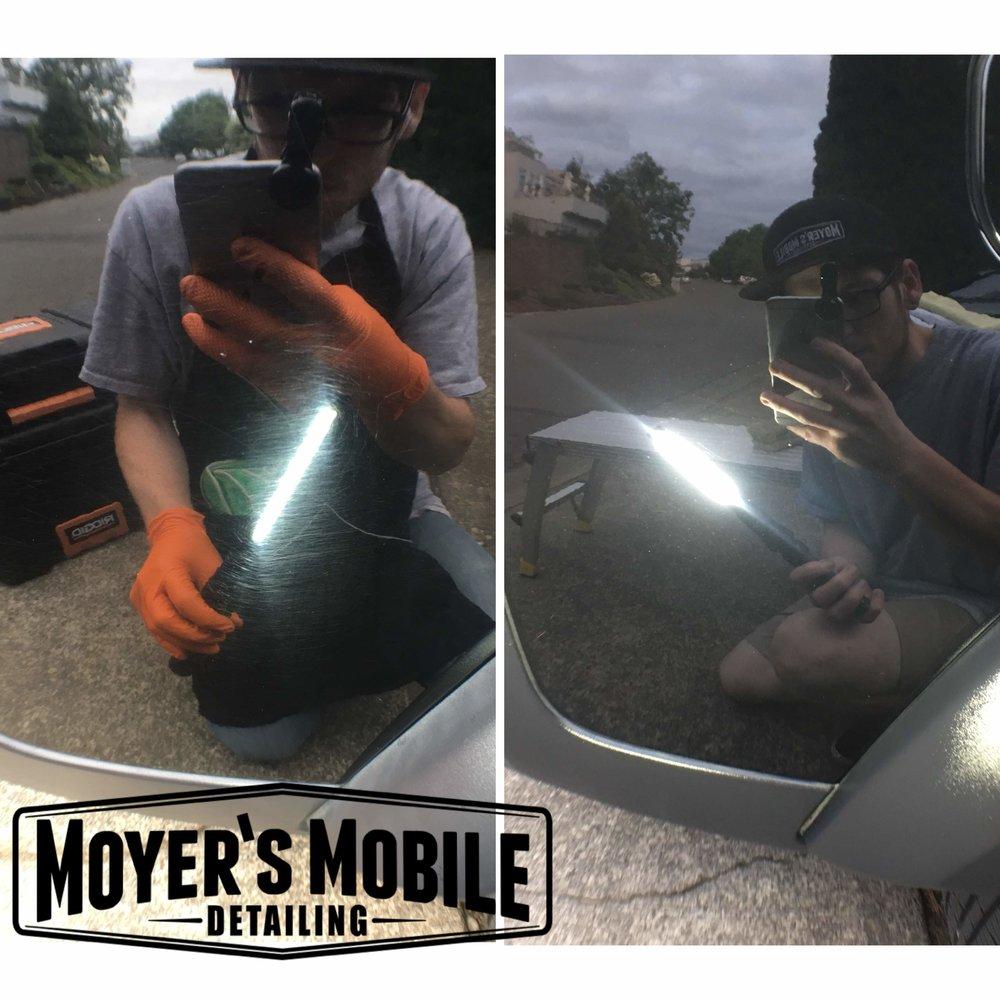 Professional auto ceramic coating | Mobile car detailing
