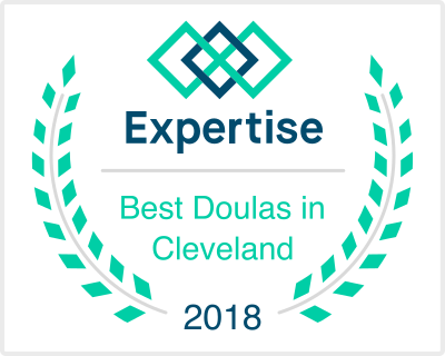 CLEbaby earns Expertise's Best Doulas in Cleveland Award