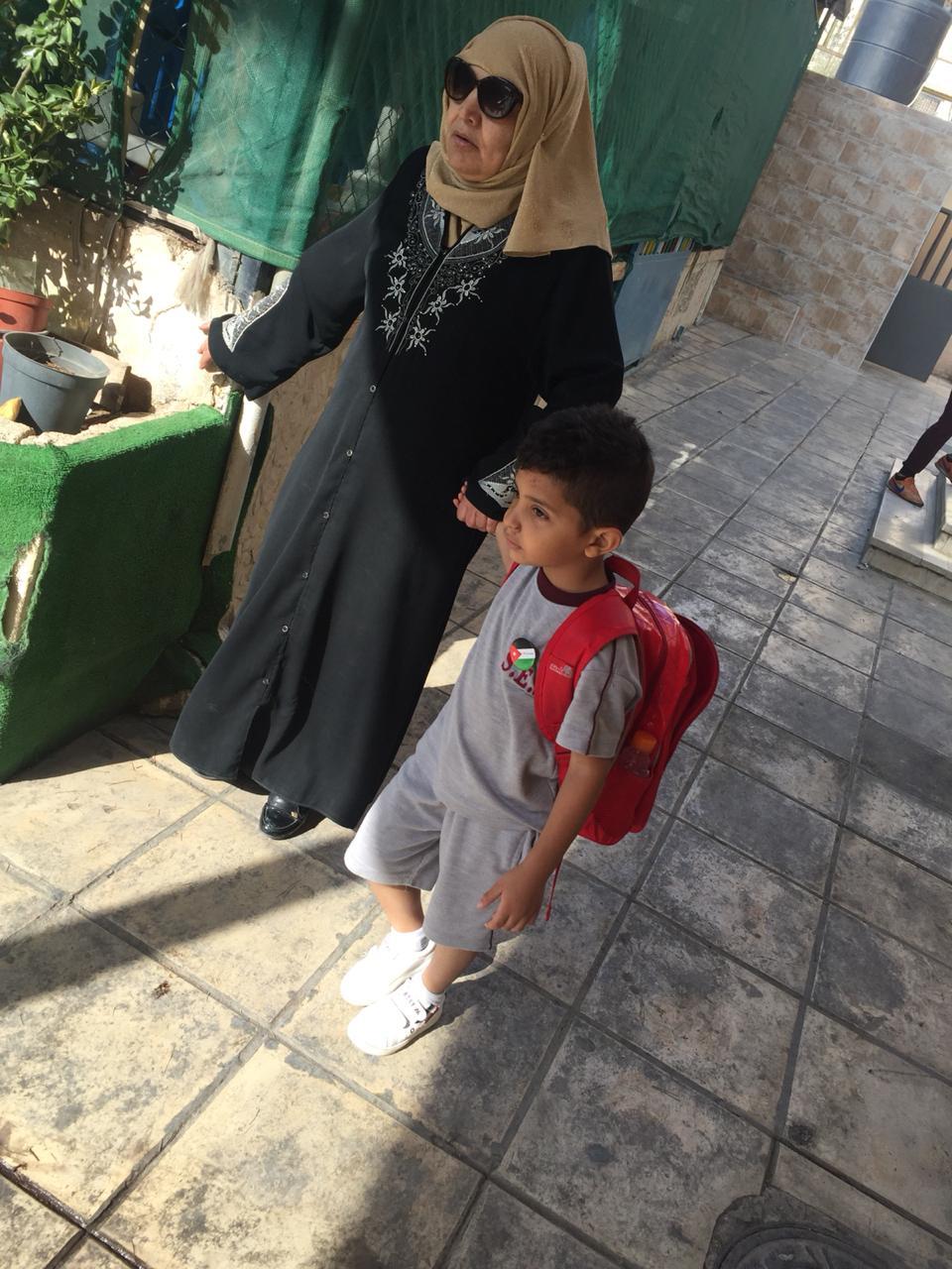 Zeid in kindergarten -