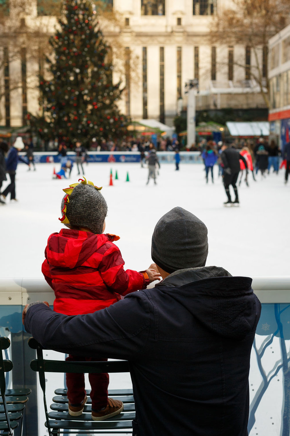 Toddler Ice Skating in Bryant Park, Casa de Fallon, Things to Do with kids in NYC.JPG