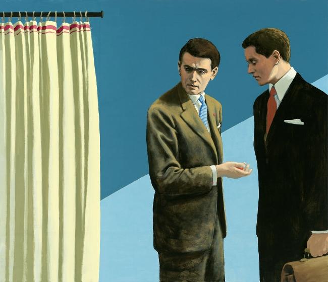 Christian Brandl, Das Gesprach [The Conversation], © 2014.