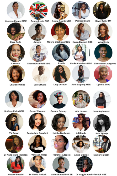 The Slay In Your Lane interviewees (via https://www.slayinyourlane.com)