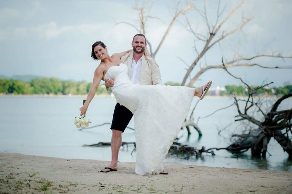 Pamela   Hi Josy! Just wanted to say thank you again for making my dress PERFECT for my Wedding day!  Thank you again!