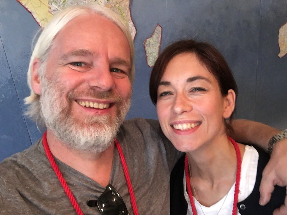 Mit Lisa beim CreativeMornings Summit in Austin