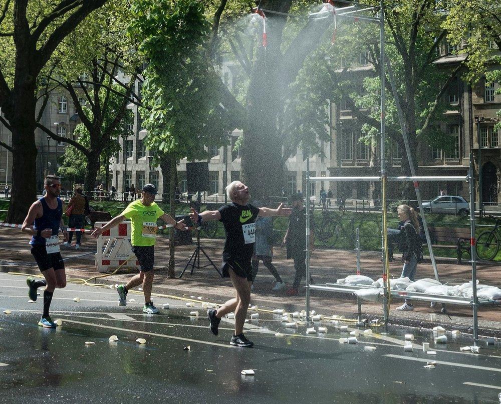 Marathon auf der Kö.