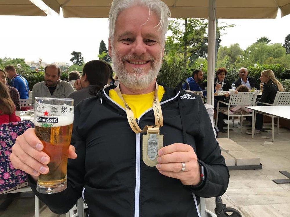 Marathon Nr. 25 in Athen 2017
