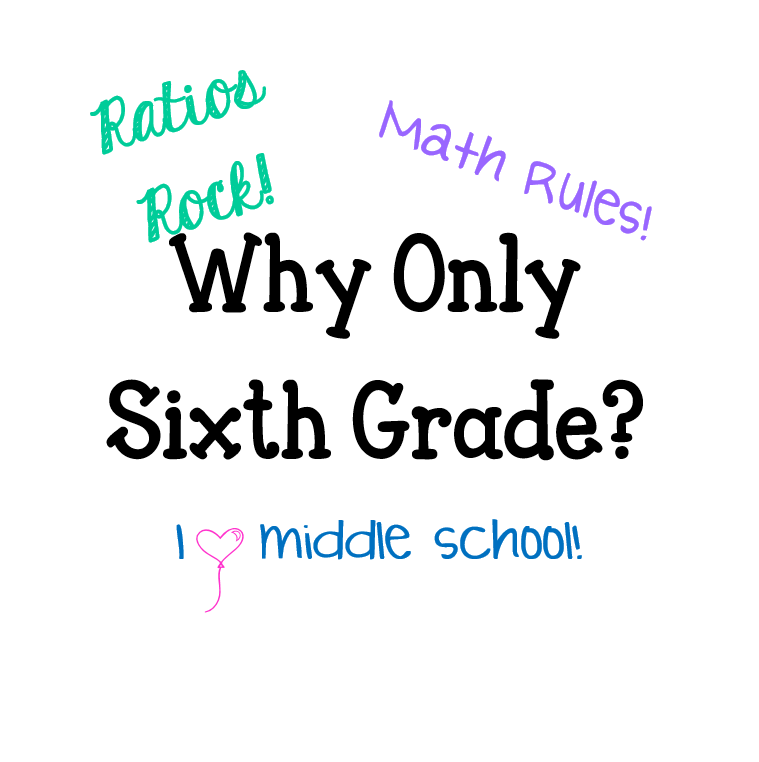 Why only sixth grade? — Math with Mrs. Fish