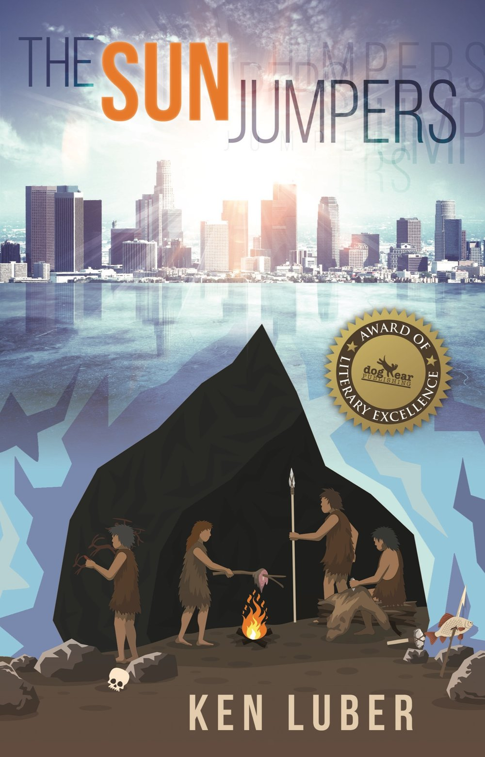 Find out more about Ken Luber's new award-winning novel...  The Sun Jumpers  - Click here to go to the