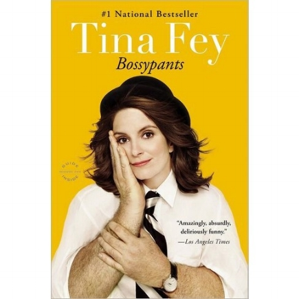 Tina Fey is one of my heroes and role models. Her book is honest, confident and inspiring. Check it out!